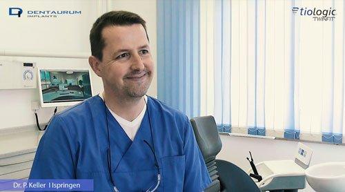 Interview Dr. Peter Keller Implantate Dentaurum